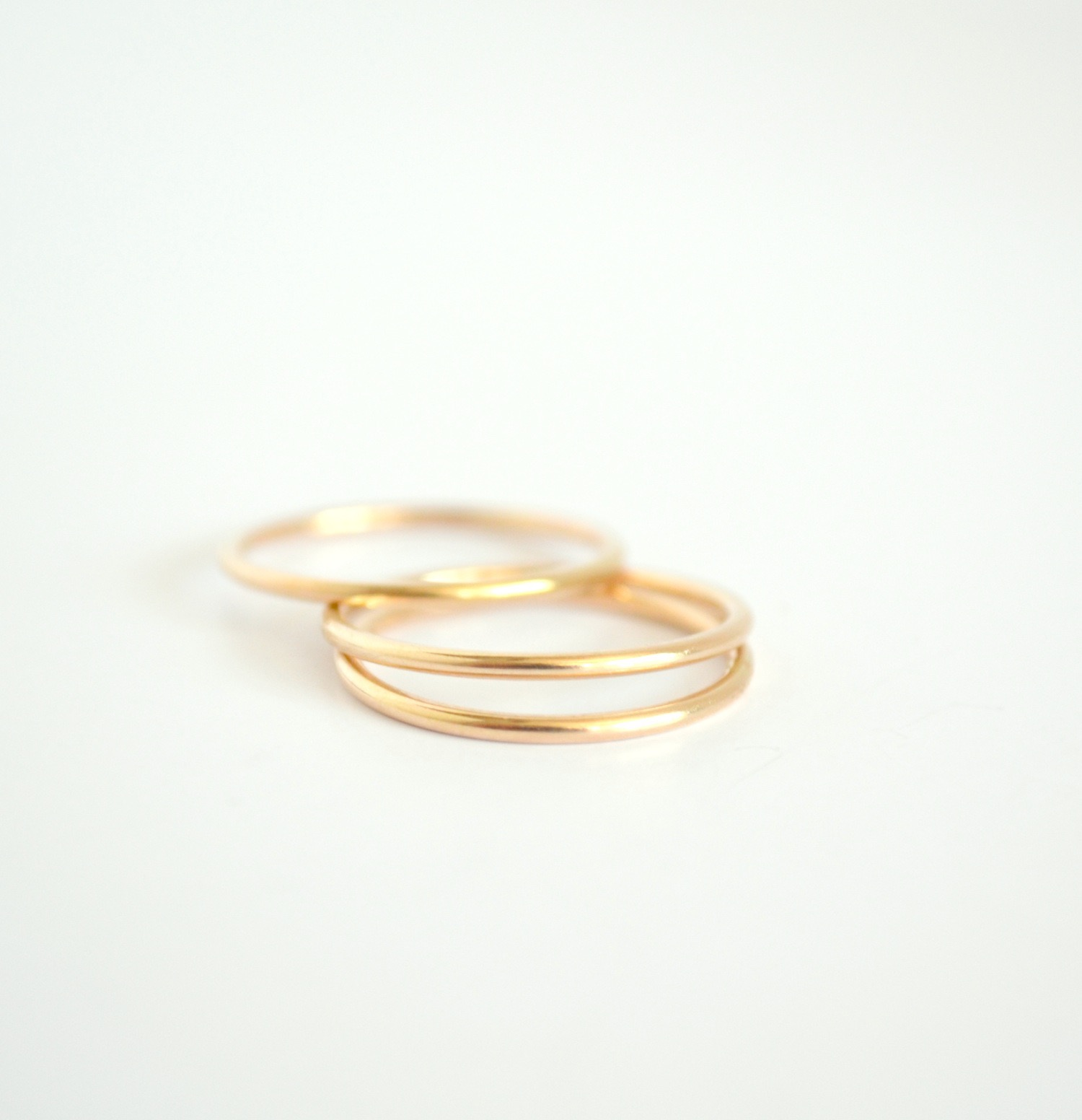 rounded band rings products design by shiree ny ring plain gold yellow wedding odiz